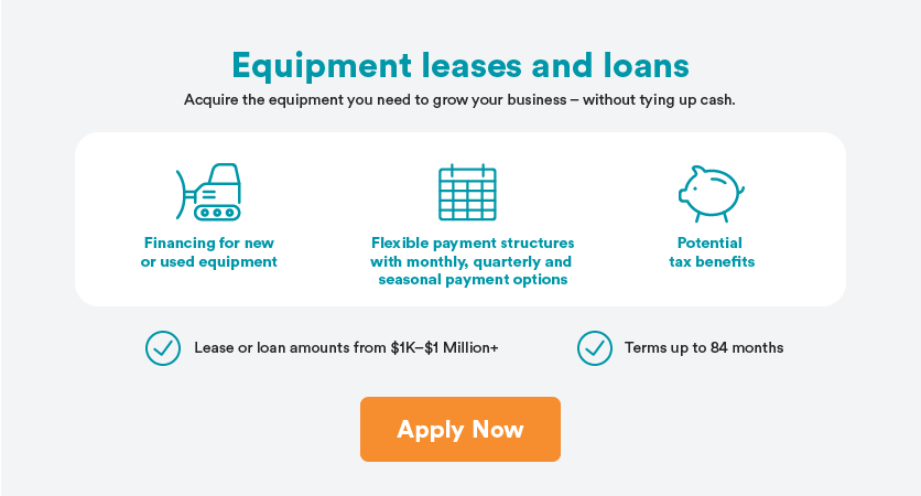 Apply for equipment financing with CWB National Leasing