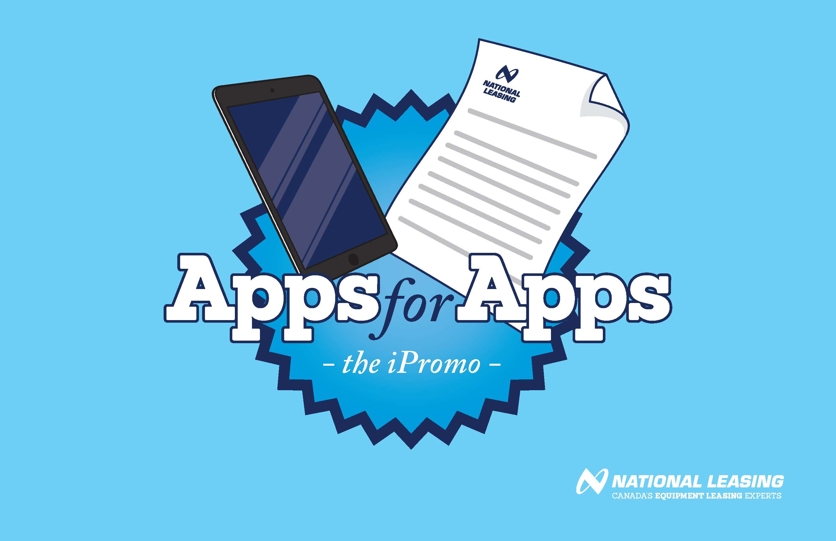 National Leasing Apps for Apps promotion