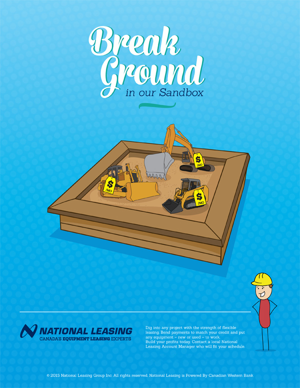 National Leasing's 2016 Construction and Transportation Campaign