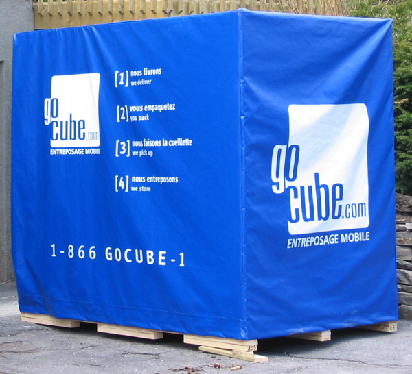 Check out this huge Go Cube storage cube in action!