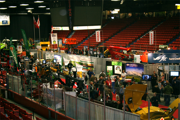 Image from an agricultural trade show