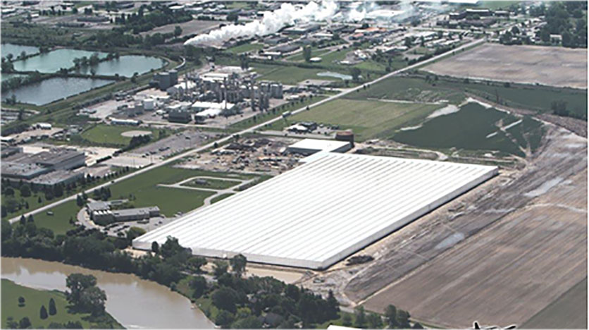 Truly Green Farms aerial picture