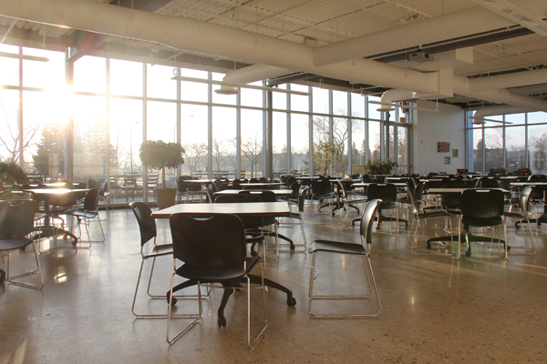 National Leasing main lunchroom