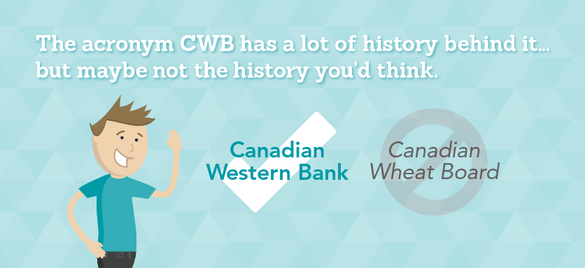 The acronym CWB has a lot of history behind it…but maybe not the history you'd think.