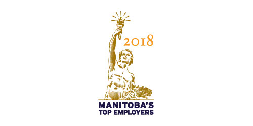 2018 winner of Manitoba's Top Employers
